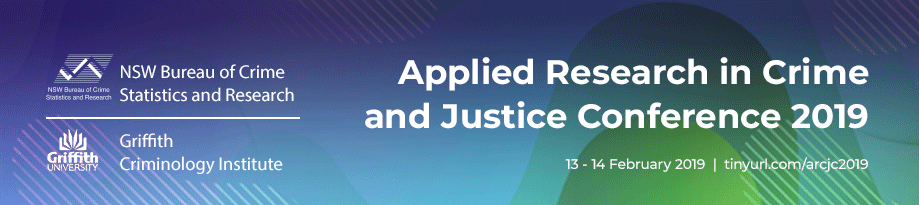 Applied Research in Crime and Justice conference 2019