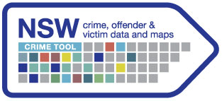 Visit our interactive NSW Crime Tool for the latest maps, graphs and data on crimes, victims and offenders in your Local Government Area, suburb or postcode